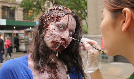 Behind the Scenes of the Zombie Experiment NYC Video