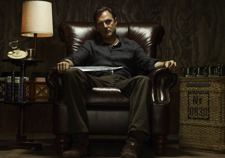 The Governor (David Morrissey) of The Walking Dead