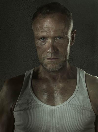 Merle Dixon (Michael Rooker) of The Walking Dead