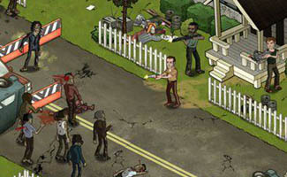 <em>The Walking Dead</em> Social Game Is Trending on Facebook
