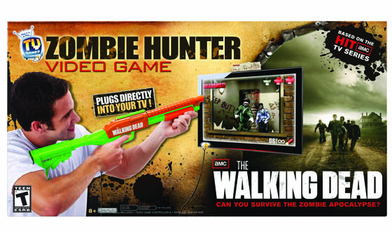 Plug It In &#038; Play TV Game &#8211; <em>The Walking Dead Zombie Hunter</em>