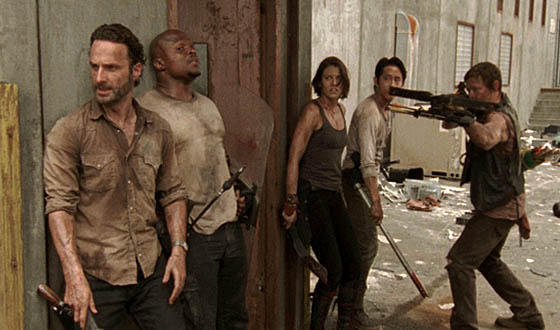 Video &#8211; <em>The Walking Dead</em> Cast Talks Season 3