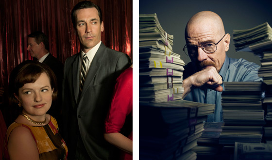 AMC&#8217;s <em>Mad Men</em> and <em>Breaking Bad</em> Go Head to Head for Emmys This Weekend