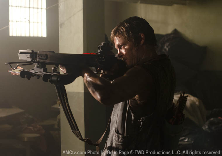 Daryl Dixon (Norman Reedus) in Episode 2 of The Walking Dead
