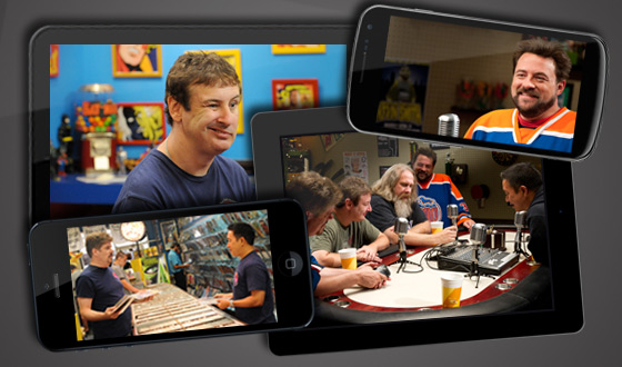 Now on Android, iPhone, iPad and Kindle Fire &#8211; <em>Comic Book Men</em>&#8216;s Season 2 Premiere