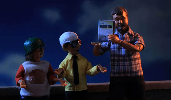 Executive Producer Robert Kirkman Makes Acting Debut on <em>Robot Chicken</em>