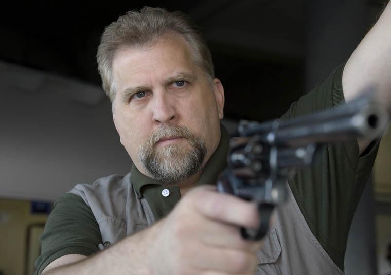 B.J. (Daniel Roebuck) of The Walking Dead Webisode Cold Storage