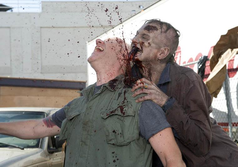 Harris (Chris Nelson) of The Walking Dead Webisode Cold Storage