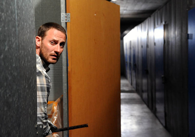 Chase (Josh Stewart) of The Walking Dead Webisode Cold Storage