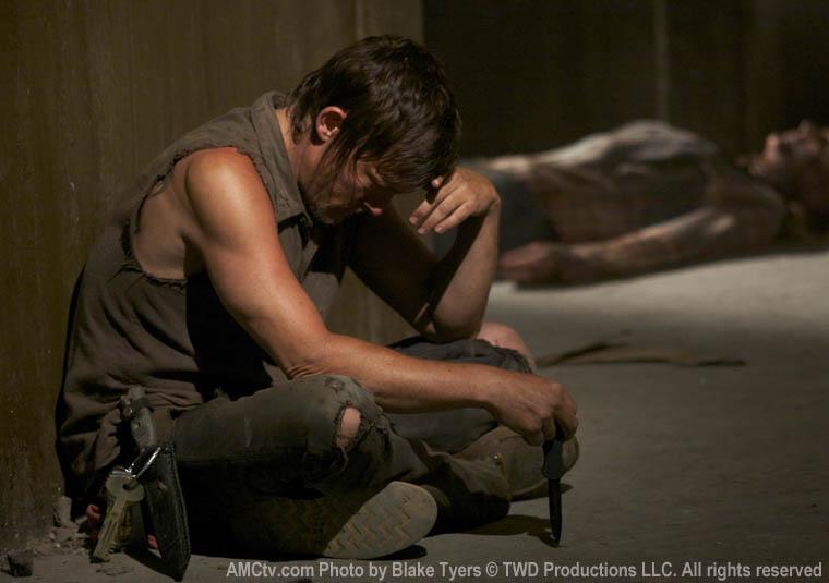 Daryl Dixon (Norman Reedus) in Episode 6 of The Walking Dead