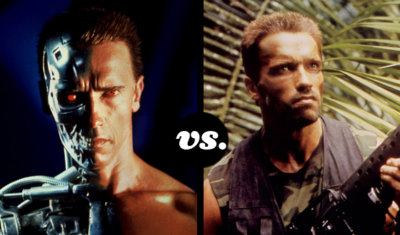 Terminator and Dutch Go to War in Tourney of Arnold Schwarzenegger Characters