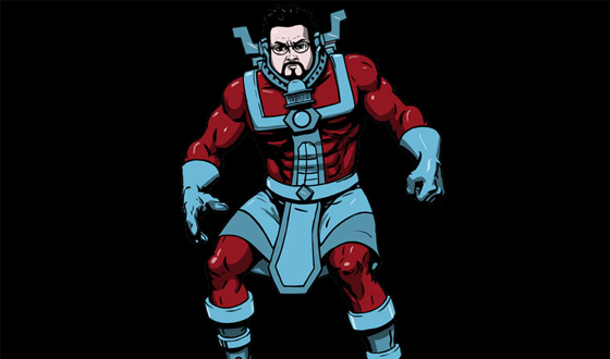 Photos – The Cast of <em>Comic Book Men</em> as Comic Book Characters