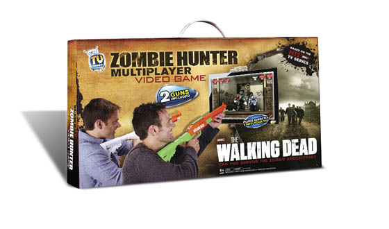 Wal-Mart Black Friday Exclusive – Two Player Jakks Zombie Hunter TV Game