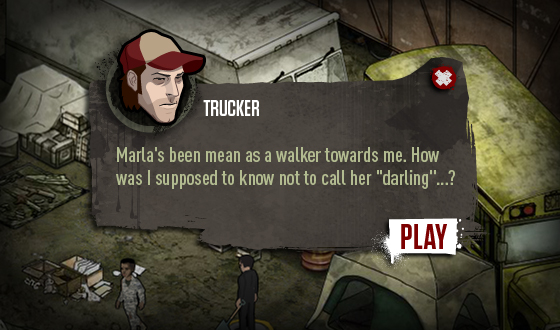 <em>The Walking Dead</em> Social Game – Listen to Your Fellow Survivors