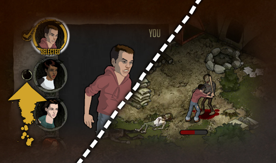 <em>The Walking Dead</em> Social Game &#8211; This Week&#8217;s Tip: Going Solo