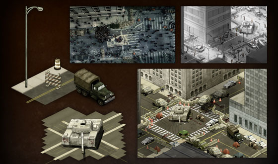 Photos &#8211; <em>The Walking Dead</em> Social Game Artwork