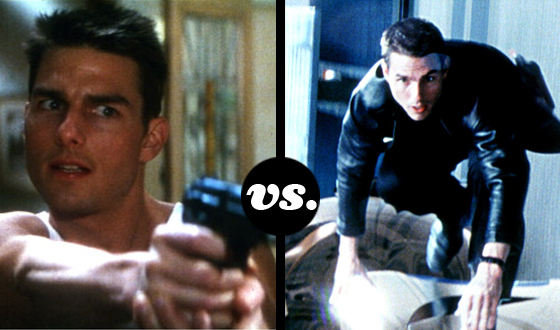 When <em>Mission: Impossible</em> Meets <em>Minority Report</em>, Which Tom Cruise Character Wins?