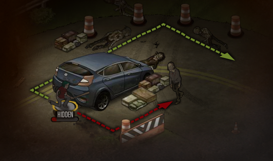 <em>The Walking Dead</em> Social Game – This Week's Tip: Plan Your Moves in Advance