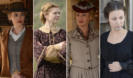 <em>Hell on Wheels</em> Season 2 Interviews With the Cast &#8211; The Women
