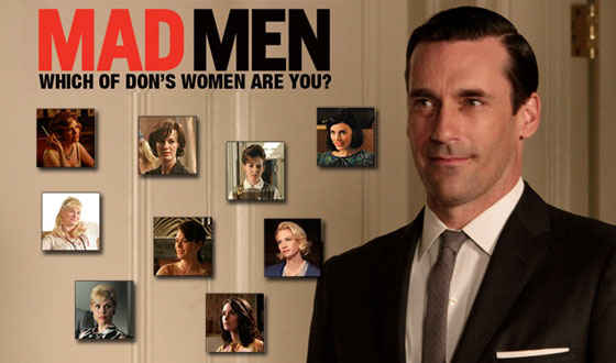 Which of Don's Women Are You? The Results Are In!