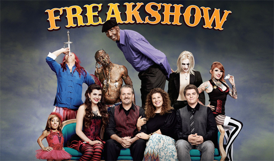 Poster for AMC&#8217;s New Original Series <em>Freakshow</em> Revealed