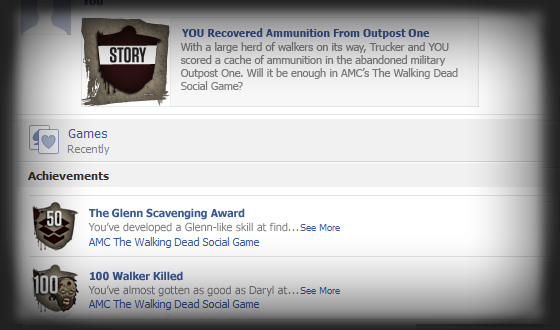 <em>The Walking Dead</em> Social Game Encourages You to Publicize Yourself