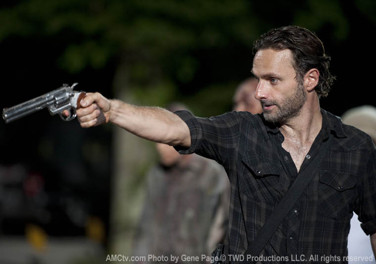 Rick Grimes (Andrew Lincoln) in Episode 9 of The Walking Dead