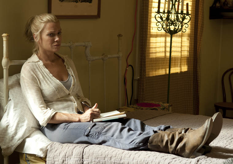 Andrea (Laurie Holden) in Episode 10 of The Walking Dead