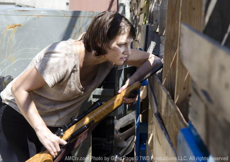Maggie Greene (Lauren Cohan) in Episode 11 of The Walking Dead