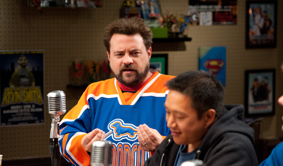 Kevin Smith and Ming Chen to Live-Tweet During <em>Comic Book Men</em> This Thursday