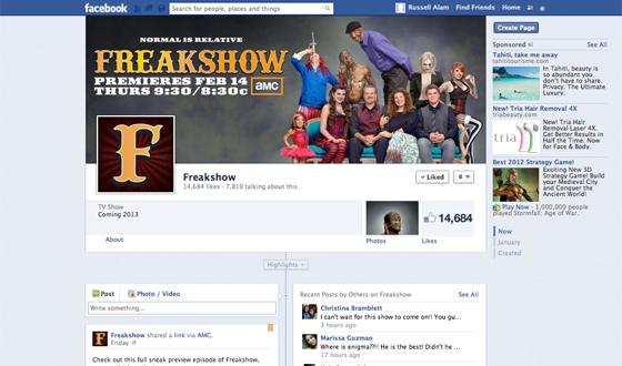 Love <em>Freakshow</em>? Like It on Facebook