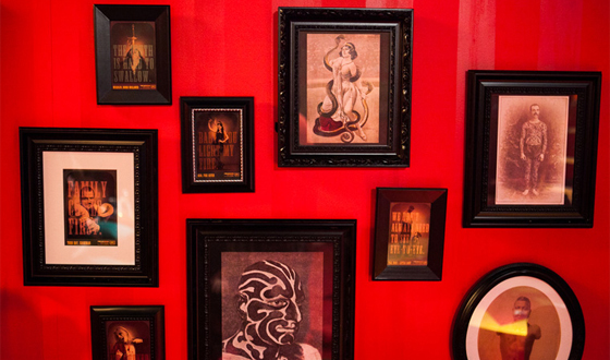 Photos of the <em>Freakshow</em> Lounge At the Immortal Love Pop-up Experience