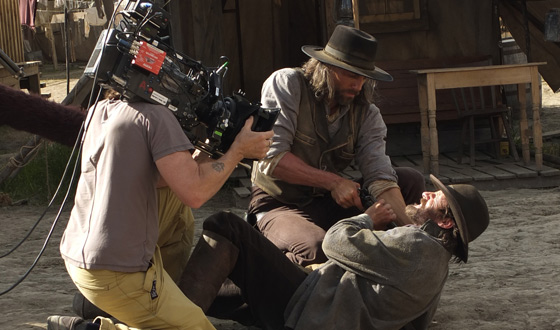 Photos &#8211; Behind the Scenes of <em>Hell on Wheels</em> Season 2