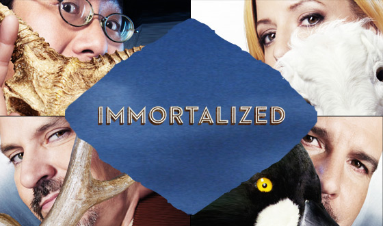 Poster for AMC&#8217;s New Original Series <em>Immortalized</em> Revealed