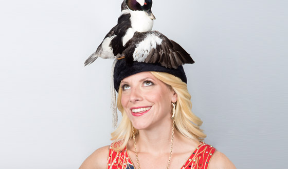 Immortalized – Photos of Beth Beverly's Taxidermy Hats