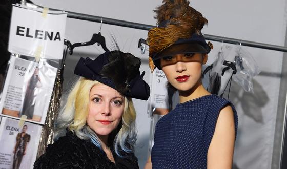 <em>Immortalized</em> Star Beth Beverly Makes Her Fashion Week Debut