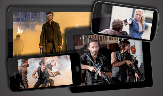 Now Available on Your Android, iPhone, iPad and Kindle Fire – <em>The Walking Dead</em> Midseason Premiere