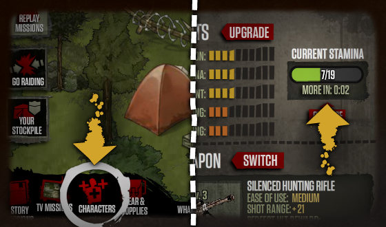 How to Use the New Stamina System in <em>The Walking Dead</em> Social Game