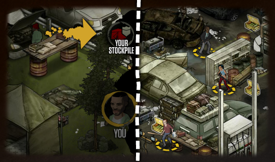 <em>The Walking Dead</em> Social Game &#8211; This Week&#8217;s Tip: Guards for Your Camp