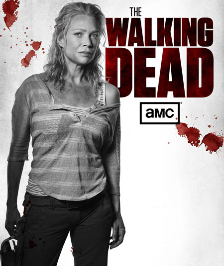 Andrea (Laurie Holden) of The Walking Dead