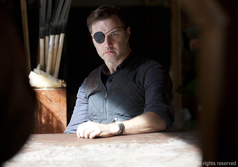 The Governor (David Morrissey) in Episode 13 of The Walking Dead