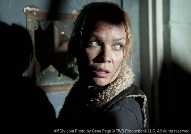 Andrea (Laurie Holden) in Episode 14 of The Walking Dead