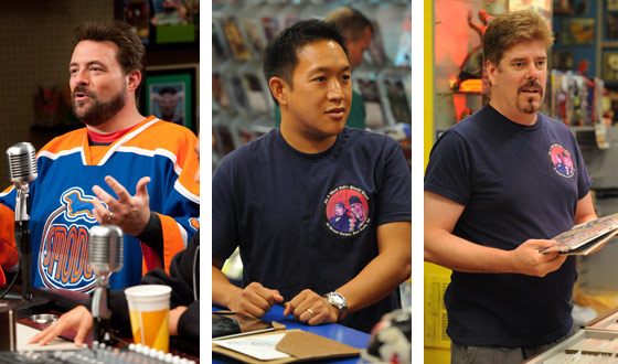 Kevin Smith, Ming Chen and Michael Zapcic to Live-Tweet During  <em>Comic Book Men</em> This Thursday