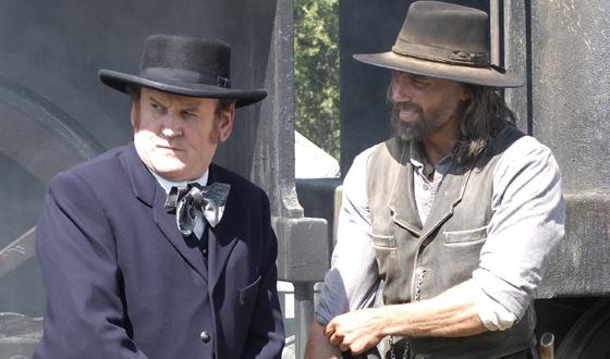 <em>TV Fanatic</em> Lauds Anson Mount in <em>Red Widow</em>; <em>BBC</em> Covers Colm Meaney&#8217;s England Film Shoot