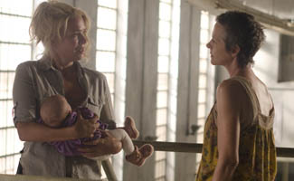 Laurie Holden Explains Andrea's Actions; Robert Kirkman Talks De-Jawing Zombies