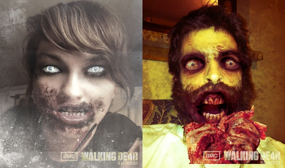 Photos &#8211; Dead Yourself Fans of the Week From <em>Talking Dead</em>
