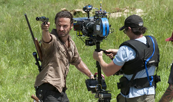 Behind-the-Scenes Photos From <em>The Walking Dead</em> Season 3