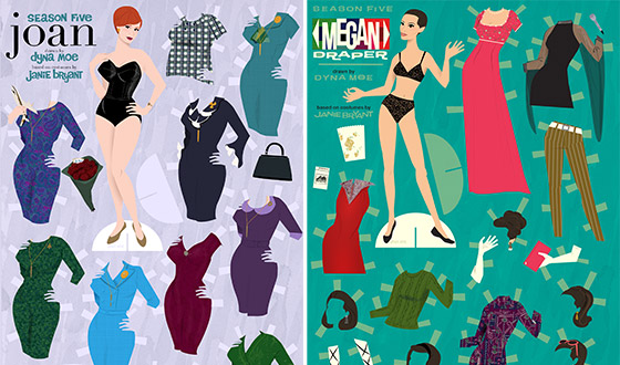 <em>Mad Men</em> Paper Dolls Are Back