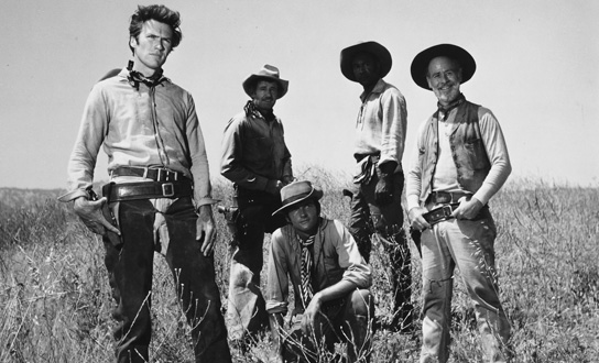 <em>Rawhide</em>, the TV Series That Made Clint a Star, Joins AMC Cowboys This Saturday