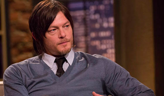Photos &#8211; Norman Reedus, Laurie Holden and Other Guests on <em>Talking Dead</em>